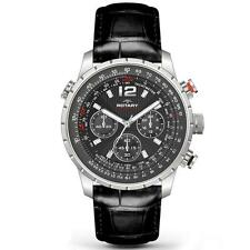 MENS ROTARY AQUASPEED SWISS CHRONOGRAPH LEATHER WATCH GS00175/04