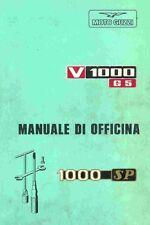 CD MANUALE OFFICINA MANUTENZIONE MOTO GUZZI V 1000 G5 - 1000 SP - pdf prm