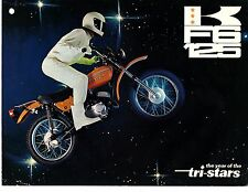 1972 Kawasaki F6125 Single Moto/Enduro original sales brochure(Reprint) $9.00
