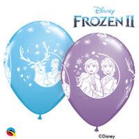 "Qualatex Disney Frozen 2 11"" Latex Balloons Birthday Party Event Decor"