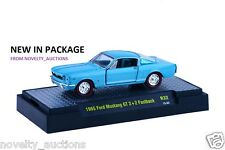 L16  32600 32 M2 MACHINE DETROIT MUSCLE 1965 FORD MUSTANG GT 2+2 FASTBACK  1:64