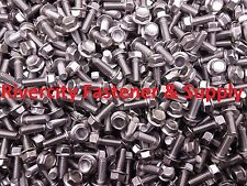 (10) M6-1.0 x 16 / M6x16 Hex Flange Bolts DIN 6921 6mm x 16mm Stainless Steel