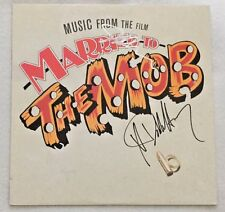 """Autographed """"Married to the Mob"""" Soundtrack Debbie Harry (Blondie)"""