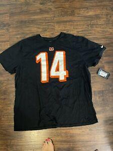 Andy Dalton Cincinnati Bengals NFL Team Apparel Nike Shirt Size 3X