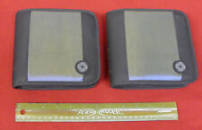 TWO of CD 24 Pocket Cases Wallets - Blue Reflective Surface
