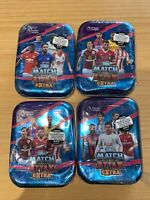Match Attax Season 17/18 Premier League 4 ×  Small Tins Sealed 160 Cards