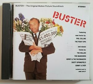 """B.O. FILM ♦ CD """"BUSTER"""" (1988 SOUNDTRACK) par PHIL COLLINS, DUDLEY, THE HOLLIES"""
