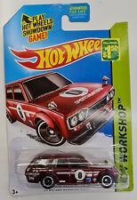 Hot Wheels 71 Datsun Bluebird 510 Wagon Super Treasure Hunt MESH +FREE Protector