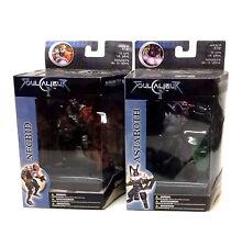"McFarlane Toys SOUL CALIBUR xbox 5"" video game toy figures set, boxed"