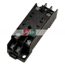 DYF08A 8 Pins Screw Terminals Power Relay Socket Base Stand Holder