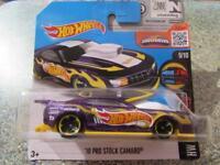Hot Wheels 2016 #064/250 2010 PRO STOCK CAMARO violet HW légère à Wild étui H