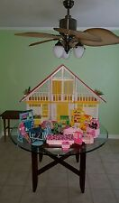 VINTAGE BARBIE DREAMHOUSE!! WITH ORIGINAL FURNITURE!! Price has been lowered :)