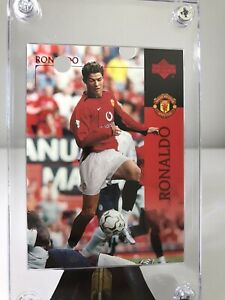 Rare 2003 Upper Deck Cristiano Ronaldo #13 Rookie Card Manchester United READ!!