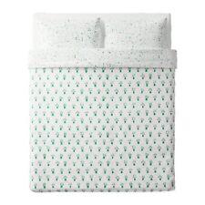 IKEA SALLSKAP Duvet Comforter Cover + 2 Pillow case set, Full/Queen, 100% Cotton