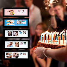 Birthday Any Age Picture Frame Unique Number Gift 1st 18th 21st 30th 40th 50th