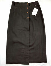 NWT Cold Water Creek Womens Long Modest Carrer Maxi Straight Dress Skirt Sz P10