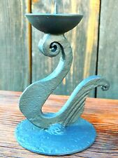 NEW  hand-forged wrought IRON   CANDLE HOLDER