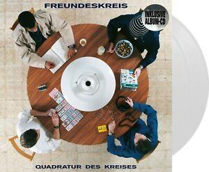 "Freundeskreis ""quadratur des kreises"" limitierte weiß-farbende Vinyl 2LP +CD NEU"