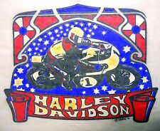 "Vintage 1975 Roach ""HARLEY DAVIDSON"" Iron-on Transfer"
