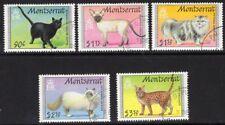 MONTSERRAT SG864/8 1991 CATS FINE USED