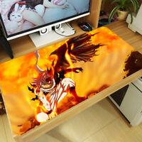 C704 Free Mat Bag Fairy Tail Natsu Dragneel Anime Yugioh Playmat Game Mat