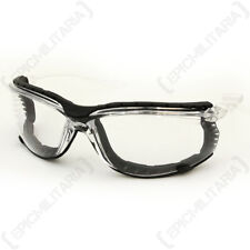 Swiss Eye 'Sandstorm' Glasses - Clear - Safety Goggles Airsoft Army Military New