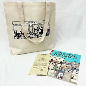 Wes Anderson French Dispatch Warby Parker NYC Promo Tote Bag & Magazine