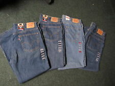 NWT Men's Levi's 550 tapered leg regular fit Blue Jeans 40 X 32 pants new 4 PAIR