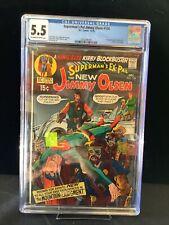 Supermans Pal Jimmy Olsen #134 Cgc 5.5 First Cameo Darkseid