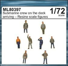 CMK ML80397 Submarine Crew on the Deck Arriving Figuren in 1:72