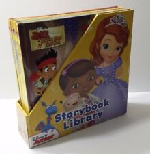 Disney Junior Storybook Library Book Set of 8 Books 2014 Comes with Poster and 2