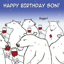 Funny Birthday Card For Son -Son Birthday Card -Humour Card-Funny Card -Son Card