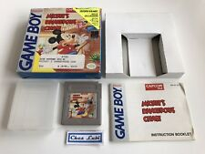 Mickey's Dangerous Chase - Nintendo Game Boy - NTSC USA 1 - Avec Notice