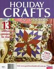 HOLIDAY CRAFTS TO CREATE MAGAZINE 2015. PATTERN SHEETS ATTACHED.