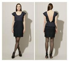 LORICK * DORSO * Pleated Open  Back Pencil  Dress GOSSIP GIRL Sz 10   NWT $ 390