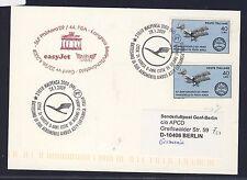 57602) easyjet FISA tan-LP ginebra suiza-Berlín 26.4.2009, KT a partir de italia LH-SST