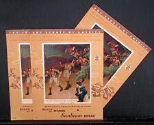 NORMAN ROCKWELL PRINT, BOY SCOUT CERTIFICATES, OATH, 1950s, BREAD ADVERTISEMENT