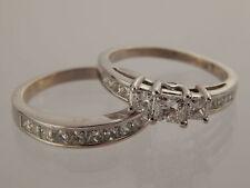 kay 256 tcw princess diamond wedding set fsi2 14k wg engagement zei ret 6000 - Kay Jewelers Wedding Rings Sets