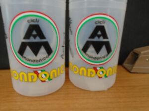 2 Signed Mondonico Water Bottles, New, Large Capacity