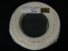 22 GAUGE 2 CONDUCTOR 100 FT WHITE ALARM WIRE SOLID COPPER HOME SECURITY CABLE