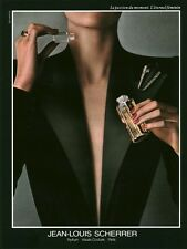 Publicité ancienne Parfum Jean-Louis Scherrer non parfumé