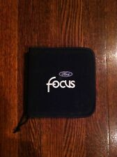 1997-2015 Ford Focus CD Wallet Official Ford Merchandise 2002 2003 2004 2005 06