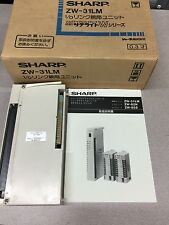 NEW IN BOX SHARP I/O LINK MASTER MODULE ZW-31LM