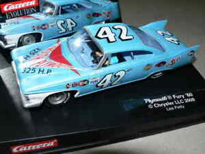 Carrera Evolution 27254 Plymouth Fury 60 Lee Joli No. 42