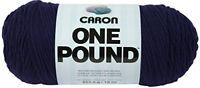 Caron One Pound Yarn, 16 Ounce, Midnight Blue, Single Ball