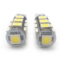 2x Xenon White 13 SMD LED Side Light W5W T10 501 Fits Audi A3 A6 Q5 AMNP1018W