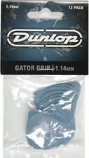 Jim Dunlop Gator Agarre Guitar Picks 12 Pack - 1.14mm