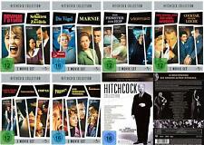 32 Clásicos Alfred Hitchcock Marnie Psycho Vertigo DVD Sammlung Edition Nuevo