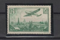 AG4874/ FRANCE – AIRMAIL – Y&T # A14 MINT MNH CERTIFICATE - CV 2375 $