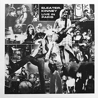 SLEATER-KINNEY - LIVE IN PARIS   CD NEW